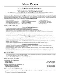 Manager Job Description Resume by Conference Manager Resume Conference Manager Resume Resume