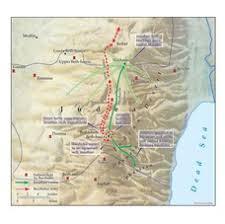 siege bce the siege of beth basi and jonathan at machmas 156 152 bce carta