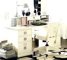 White High Gloss Home Office Furniture Desks For Pottery Barn Great