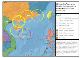 Spratly Islands Map Beijing Ups The Ante In South China Sea Dispute With Hq 9