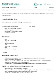 division review worksheet education com