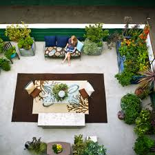 Landscaping Ideas For Backyards by Small Yards Sunset