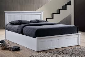 ottoman storage bed king size white tag ottoman bed white
