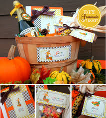 thanksgiving diy gratitude gift basket thanksgiving ideas