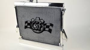 new heavy duty hummer h3 radiator csf racing