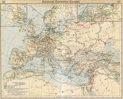 Ancient Europe Map by Map Of Commerce In Medieval Europe