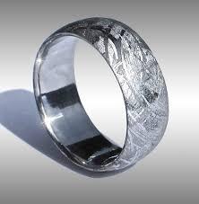 meteorite wedding band mens meteorite wedding ring best 25 meteorite ring ideas on