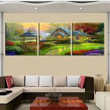 online get cheap flower fairy art aliexpress com alibaba group hd print poster modular picture 5 piece canvas art wall picturesthomas kinkade fairy tales of nature