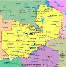 map of zambia zambia fig 1