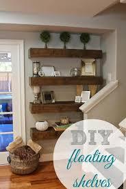 storage u0026 organization diy book floating shelves ideas diy