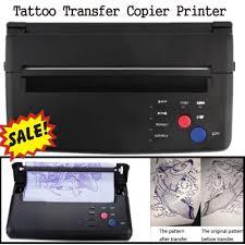 tattoo thermal printer reviews pro black tattoo transfer copier printer machine thermal stencil