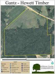 Jefferson County Tax Map Gantz Hewett Timber Jefferson County Conservation Board