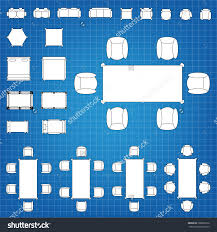 Floor Plan Icons by Set Of Simple 2d Flat Vector Icons Furniture For Floor Plan Save