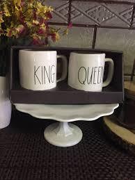 rae dunn king u0026 queen mugs mercari buy u0026 sell things you love