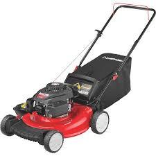 troy bilt 21 in powermore push gas lawn mower walmart com