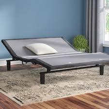 alwyn home 2 0 adjustable bed base u0026 reviews wayfair