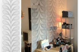 to hang room divider curtain rooms decor and ideas inside curtain