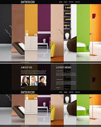 Interior Designer Website Colorful And Vibrant Website Designs Entheos