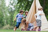 How To Build A Tent How To Build A Tent For A Backyard Campout Pg Everyday P U0026g