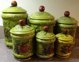 Kitchen Canisters Green by 100 Country Kitchen Canisters Vintage Aluminum Copper
