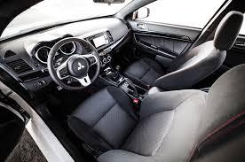 mitsubishi evo 9 interior 2015 mitsubishi lancer evolution final edition first drive review