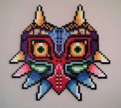 bead masks majoras mask perler by bgoodfinger on deviantart