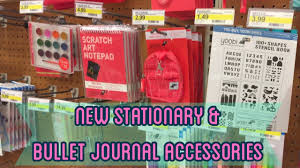 new bullet journal supplies u0026 stationary at target shop with me