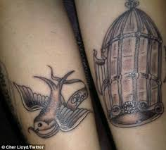 cher lloyd u0027s new tattoos pay tribute to tragic uncle u0027boo boo