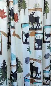 Owl Fabric Shower Curtain Curtains Exciting Bathroom Decorating Ideas With Kohls Shower
