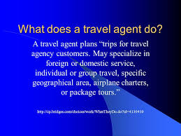what does a travel agent do images My dream career vs my back up career ppt video online download jpg