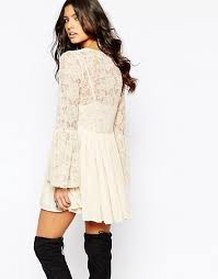 free people free people with love from india lace dress with
