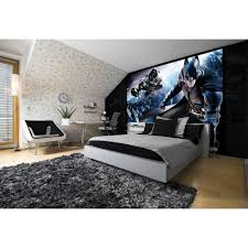 bedroom batman bedroom ideas using nice wallpaper and desk for