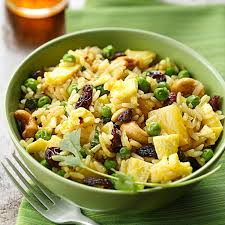 curried fried rice with pineapple recipe taste of home