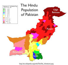 hinduism map hindus flee pakistan and other indo pak issues geocurrents