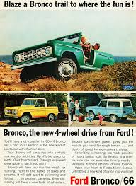 Vintage Ford Truck Advertisements - concept car of the week ford bronco 2004 car design news