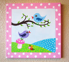 canvas painting ideas for kids paintings pinterest canvas
