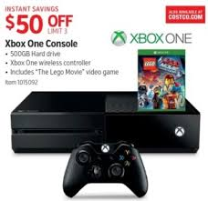 costco wholesale black friday and thanksgiving deals on xbox one