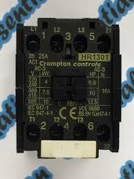 essential automation ltd crompton controls hr1301 380 400vac