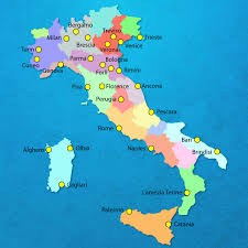 Italy Map Cities Italian Airports Major Airports In Italy International Italian