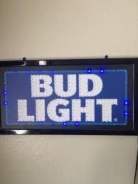 bud light light up sign light up bud light sign collectibles in orlando fl offerup