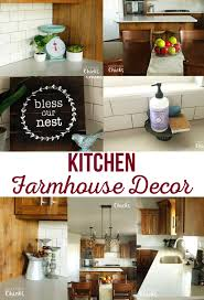 kitchen farmhouse decor the crafting