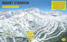 Map Of Colorado Ski Resorts by Mount Sandish Published In 2012 At Sunshine Village Pins