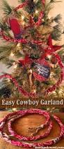 the great diy cowboy christmas tree project bandana buckaroo