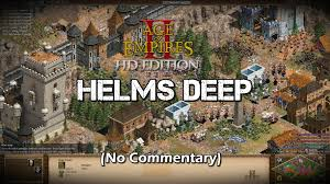 Lord Of The Rings World Map by The Battle Of Helms Deep Lotr Age Of Empires 2 Hd Scenario