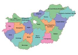 file map of counties of hungary 2004 svg wikimedia commons