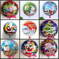 cheap balloons cheap sale christmas tree santa claus helium aluminum foil balloons