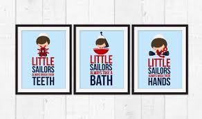 little sailors bathroom rules nautical decor bathroom rules