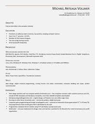 Excellent Resume Format Perfect Resume Template