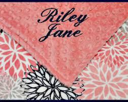 Engraved Blankets Baby Baby Blanket Etsy