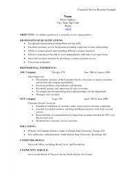 resume samples for customer service representative pretentious
